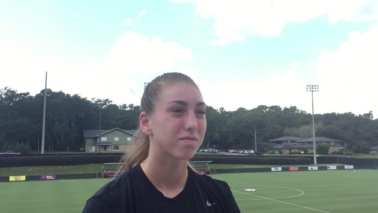 Watch it: FSU goalkeeper Brooke Bollinger on the VT, BC matches