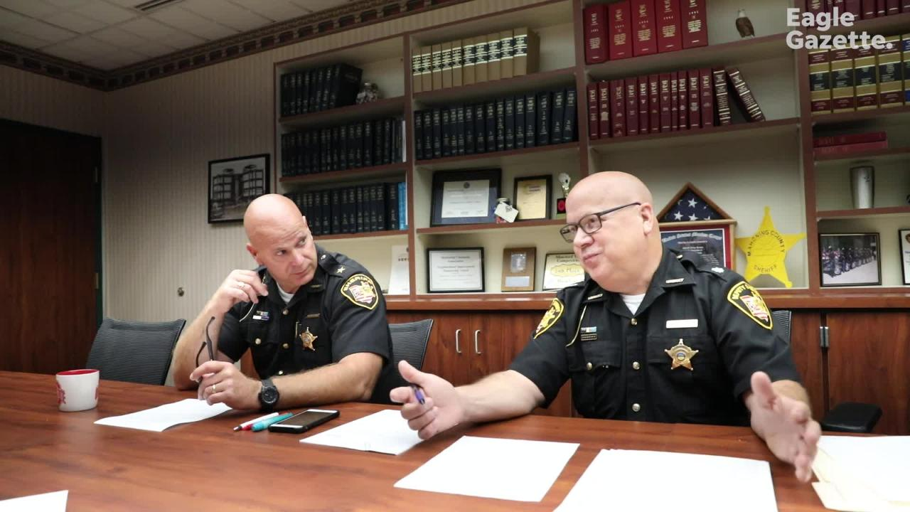 Officials from the Mahoning County Sheriff's Office talk about how they reacted after finding out they'd missed hundreds of DNA samples.