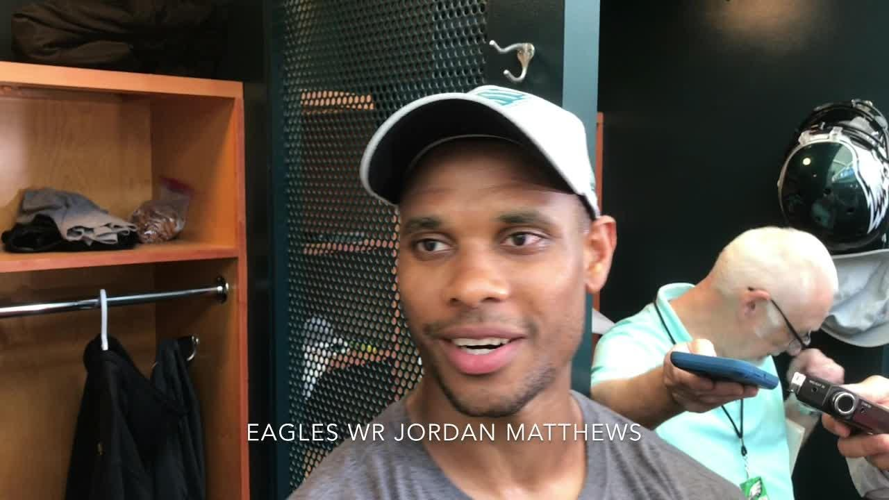 Jordan Matthews on what it's like returning to the Eagles, and his relationship with QB Carson Wentz
