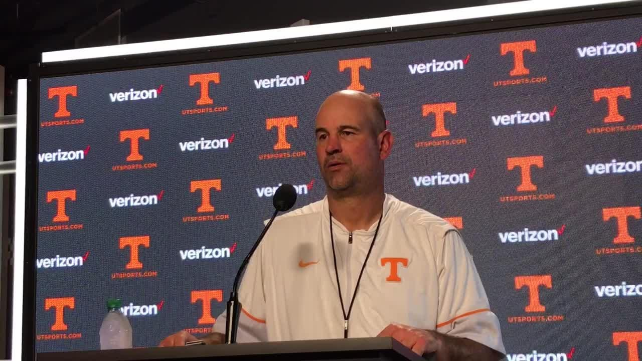 Tennessee coach Jeremy Pruitt liked the urgency the Vols had in practice on Wednesday