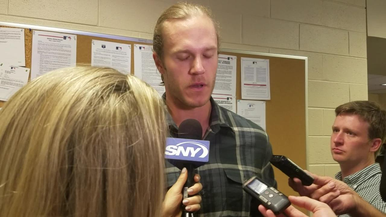 Noah Syndergaard on his outing against the Phillies