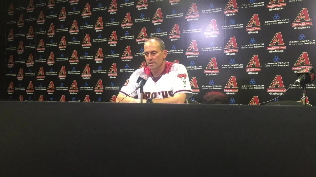 Torey Lovullo makes huge lineup changes and the Diamondbacks beat the Cubs 9-0 on Wednesday.