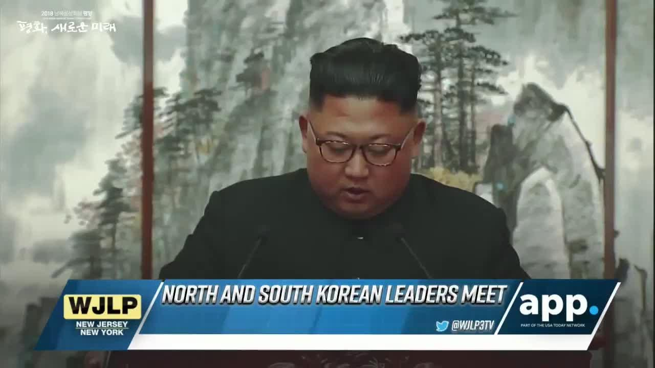 North and South Korean leaders meet; Howell police seek hit and run suspect