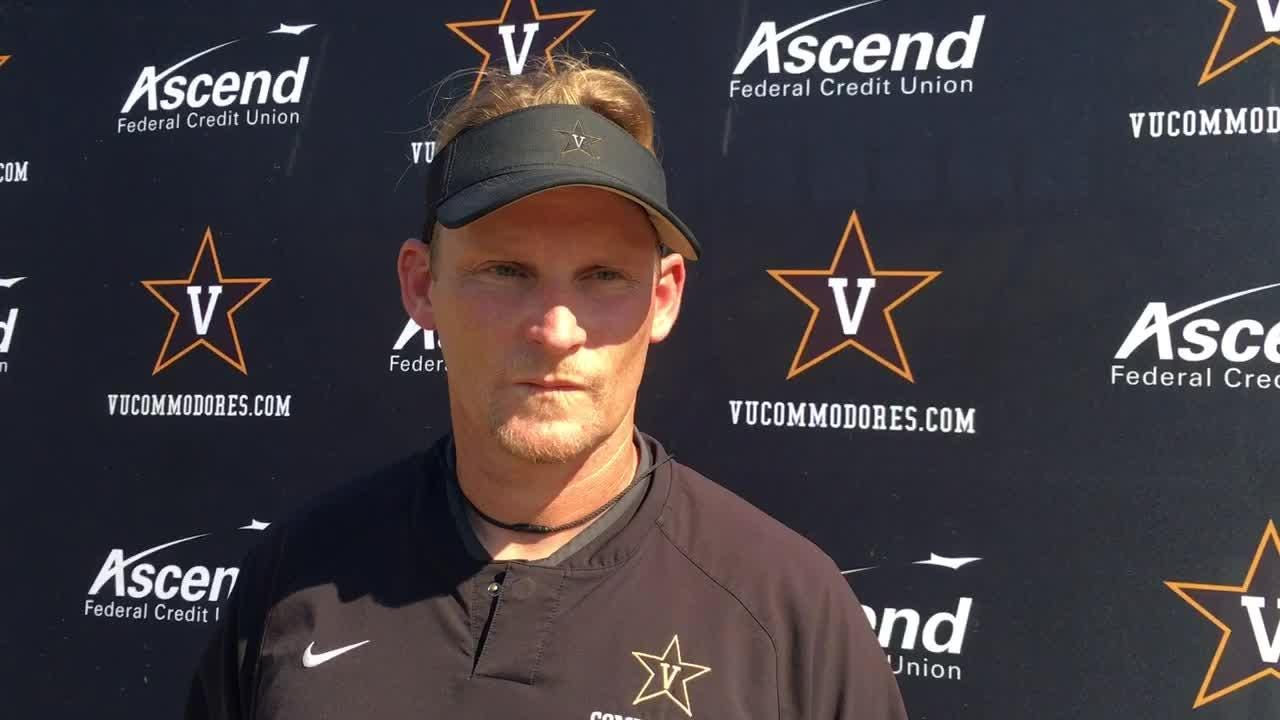 Tackling is fixed before a defender touches a ball-carrier. Vanderbilt defensive coordinator Jason Tarver explains and previews South Carolina.