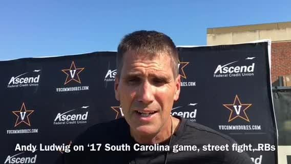 Vanderbilt offensive coordinator Andy Ludwig would like to pass the ball because he wants to, not has to.