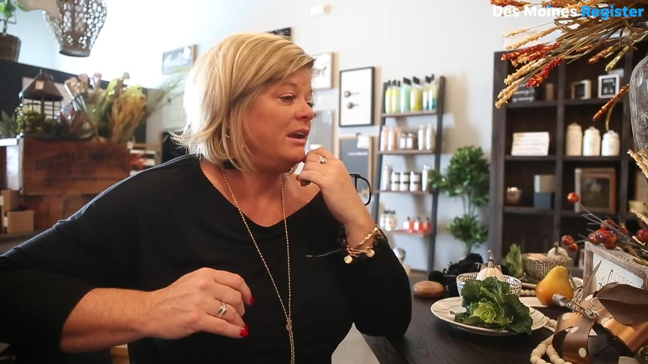 Missey Michel and Mindy Seeman both lost their husbands to a tragic accident two years ago in Missouri. They've opened Forget Me Not, a decor store in Ankeny that honors the memories of their husbands.