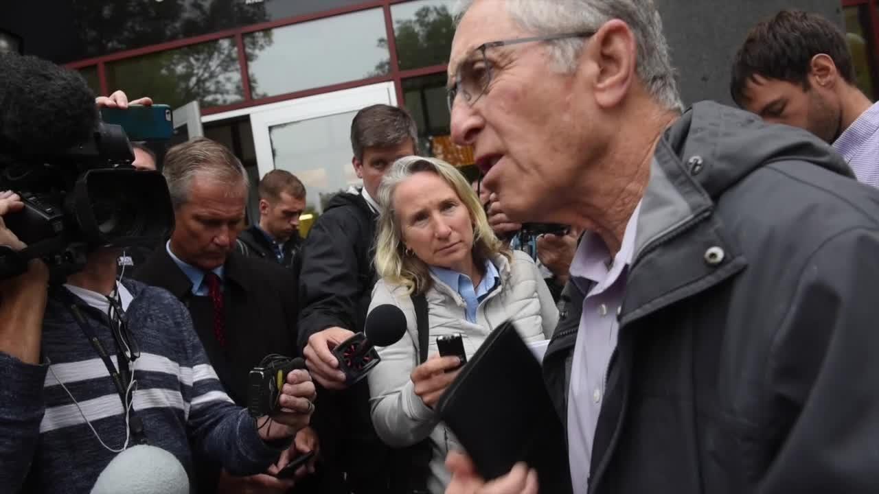 Al Garber speaks following release of investigative files in St. Cloud.