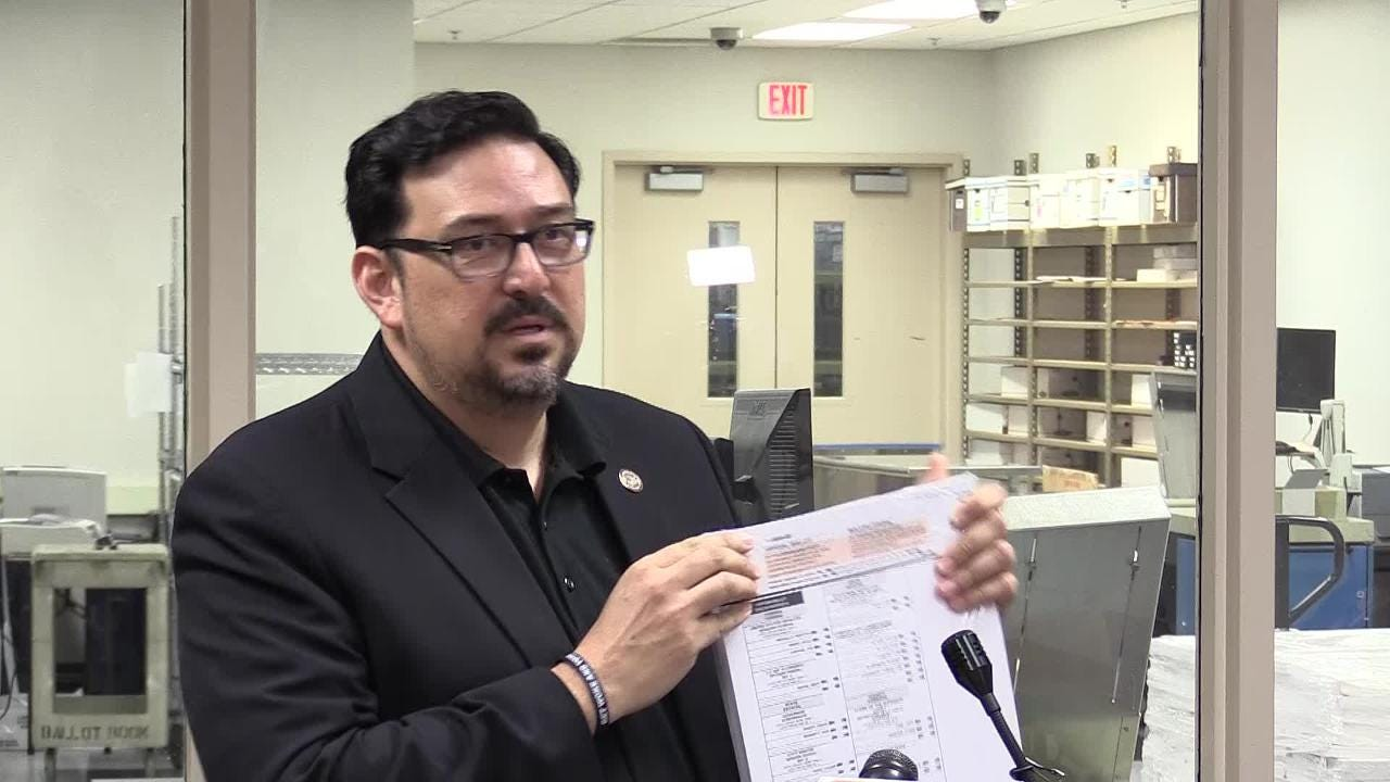 Maricopa County Recorder Adrian Fontes touts some changes in the election system in time for the upcoming general election.