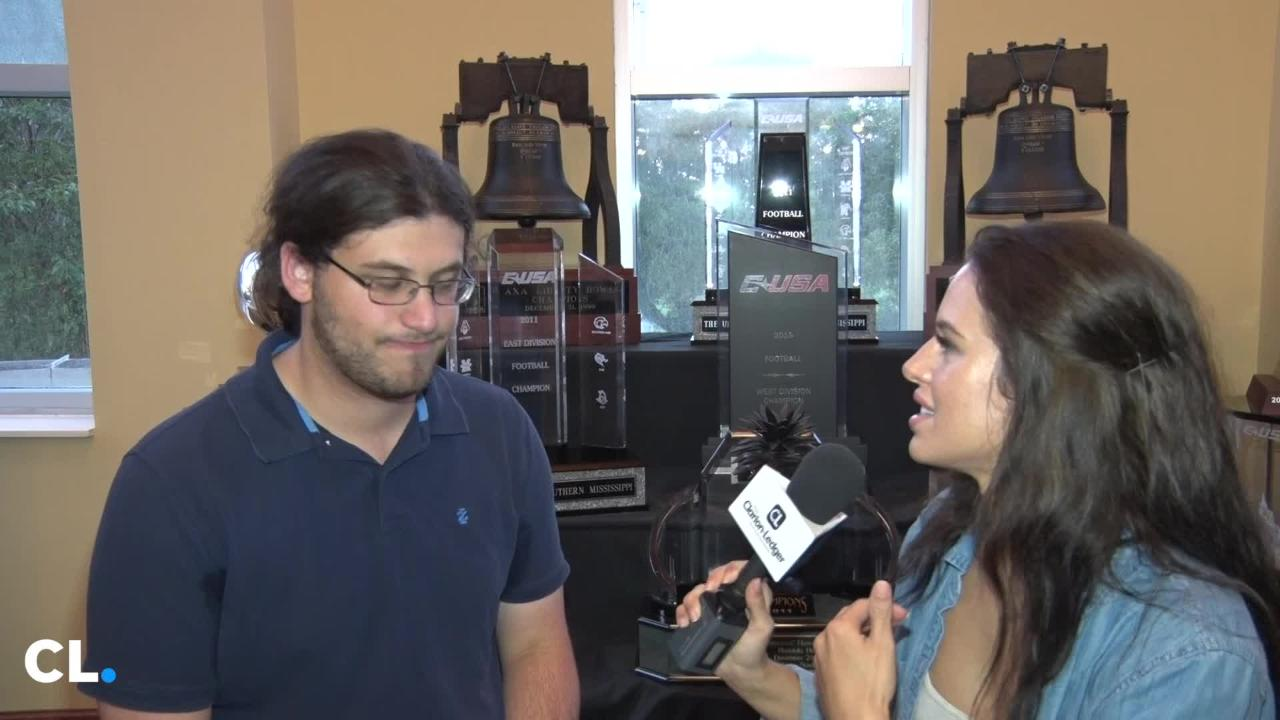Mackenzie Salmon and Nick Suss preview the Southern Miss vs Rice conference game this Saturday.