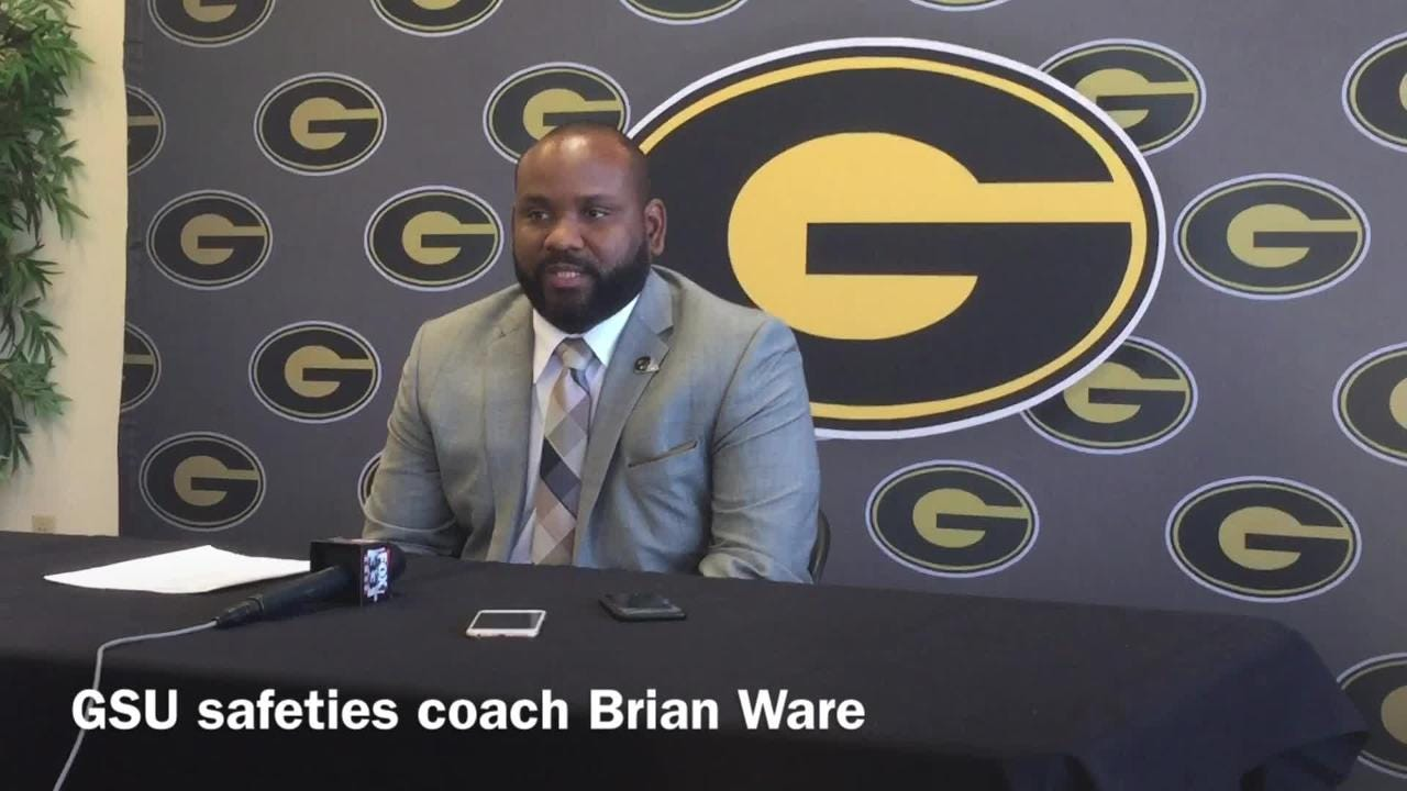 "Grambling State safeties coach Brian Ware discusses the program's ""We don't lose at home"" mantra."