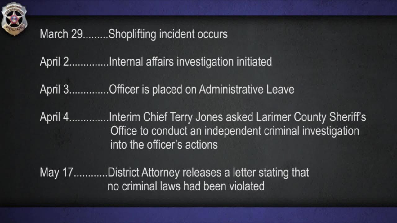 Chief: Concerns about officer's force remained after he was cleared of criminal wrongdoing by the district attorney