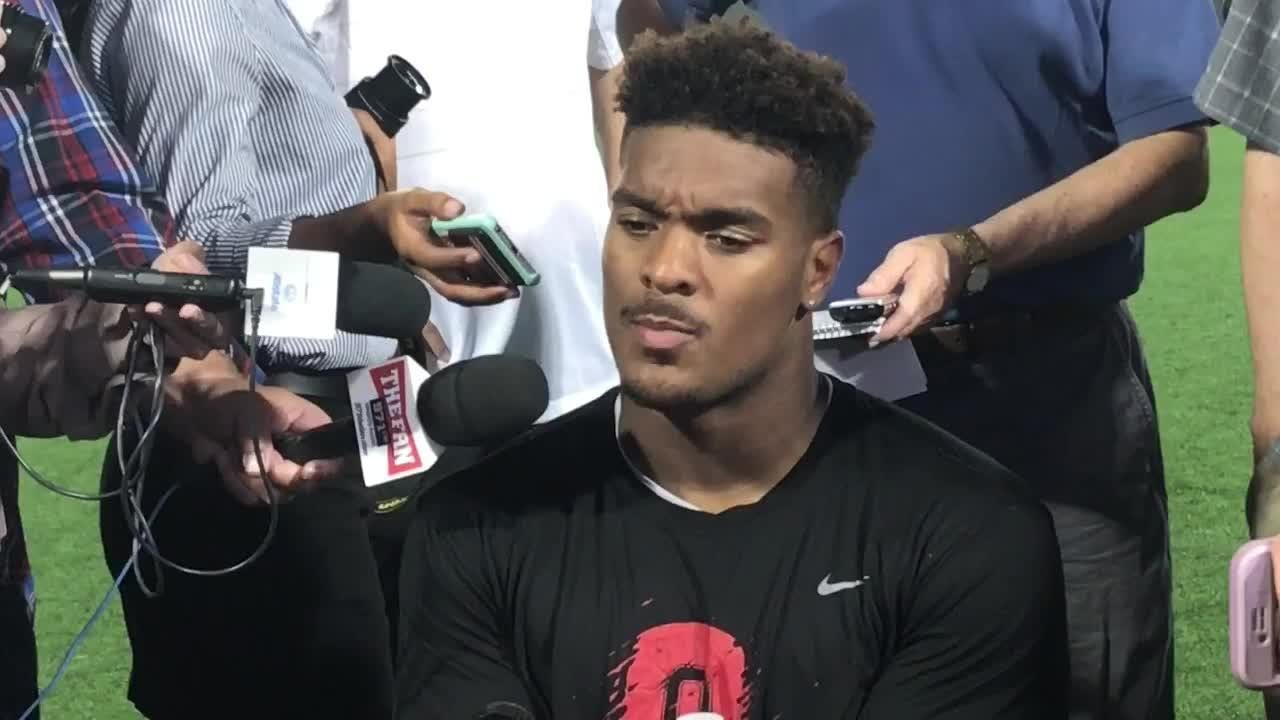 OSU defensive tackle Dre'Mont Jones on losing star Nick Bosa indefinitely after abdominal/groin surgery