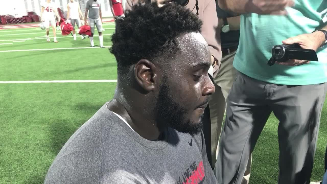 OSU offensive tackle Isaiah Prince on the Buckeyes' explosive attack through 3 gamea