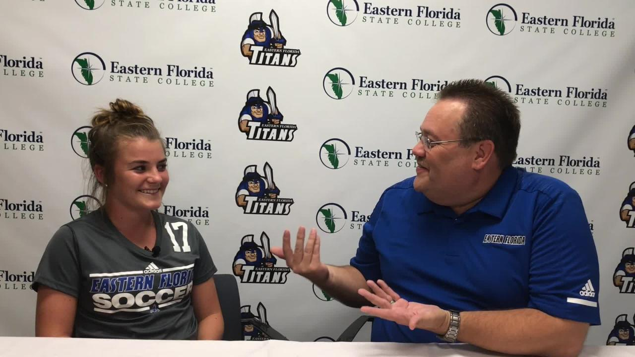 EFSC manager of athletic communications Mike Parsons introduces you to Titan athletes and coaches each week on Titan Sports Talk.