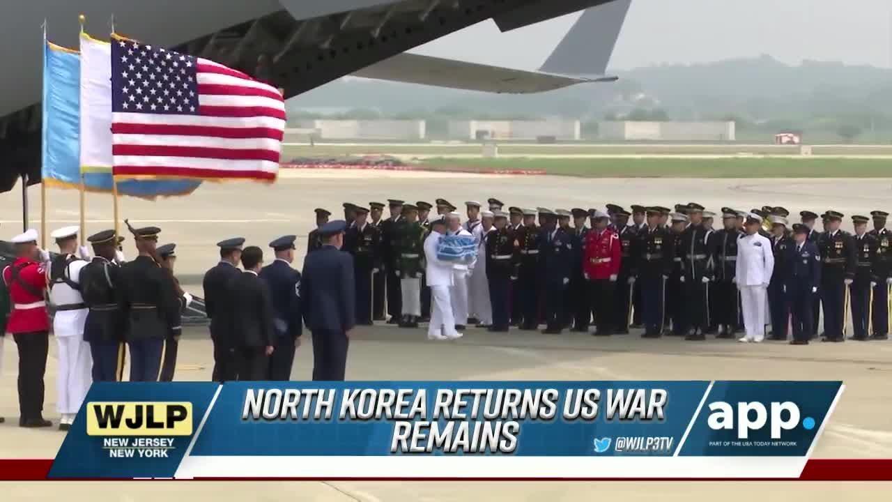 Korean War remains identified; NJ Transit delays