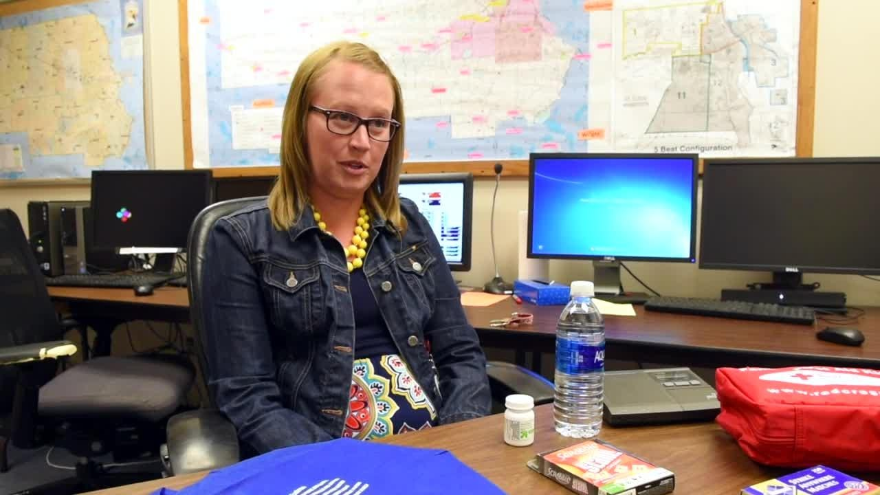 Stearns County Emergency Manager Erin Hausauer talks about what you need to prepare for disasters in this video from fall 2017.