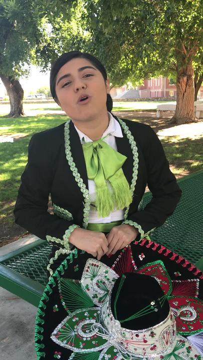 Marisol Nieto, 19, enjoys performing Mexican ranchera music and wants to be recognized as a mariachi in a male-dominated field