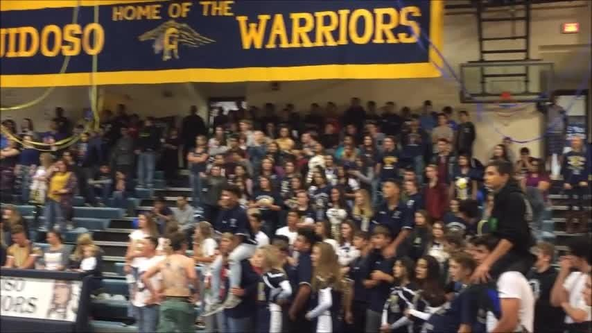 Warrior Pride runs strong during the 2018 Homecoming Pep Rally.
