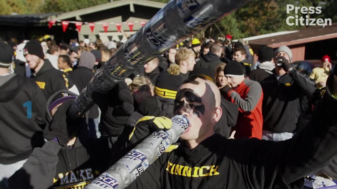 Princeton Review has considered UI to be one of the top 20 party schools in the U.S. Princeton Review considered UI the No. 2 on that list in 2015.