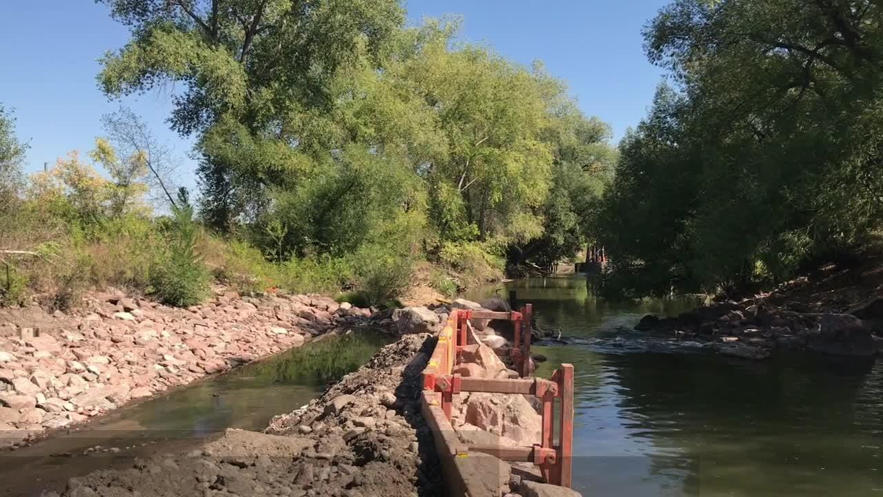 See the start of Fort Collins whitewater park construction
