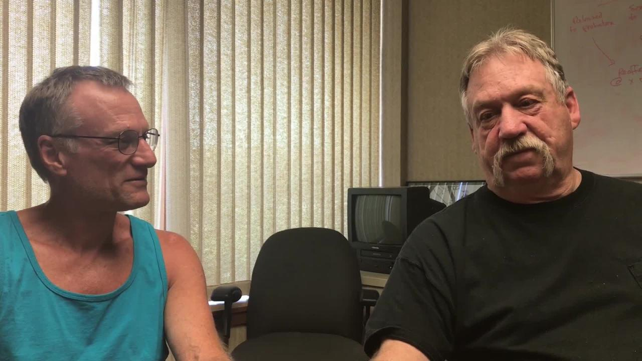 Brad Hart and Tom Hinton talk about how drag performances started in Redding.