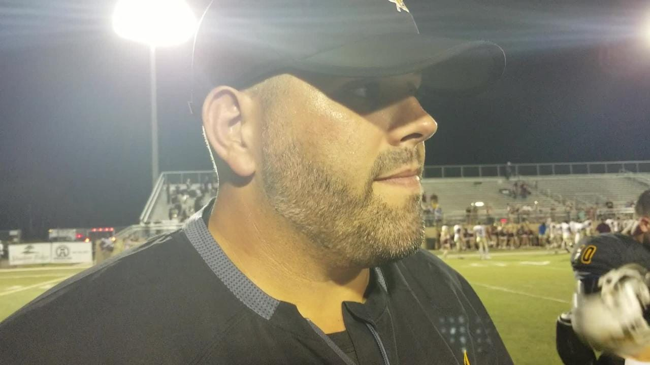 Oak Grove coach Drew Causey recapped what he liked from his team in its 39-7 win over George County on Friday night.