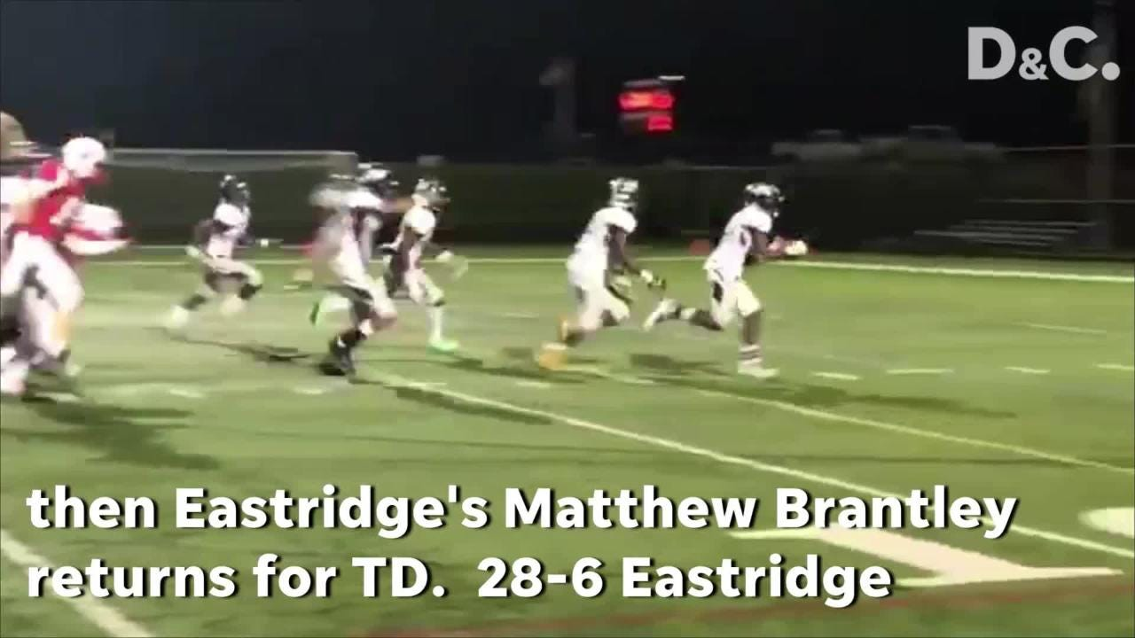 Penfield battled, but Eastridge claimed the early lead and stayed in front throughout.
