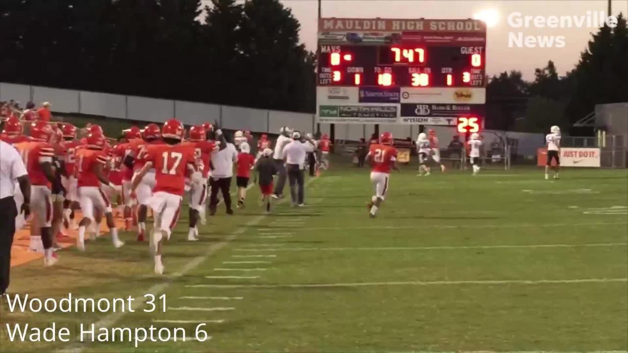 Week 5: Greenville area high school football highlights