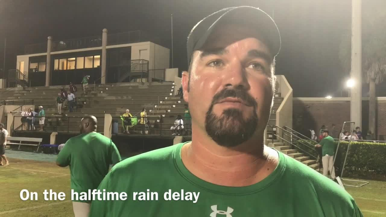 WATCH: Catholic overcomes rain for rivalry victory over Pensacola