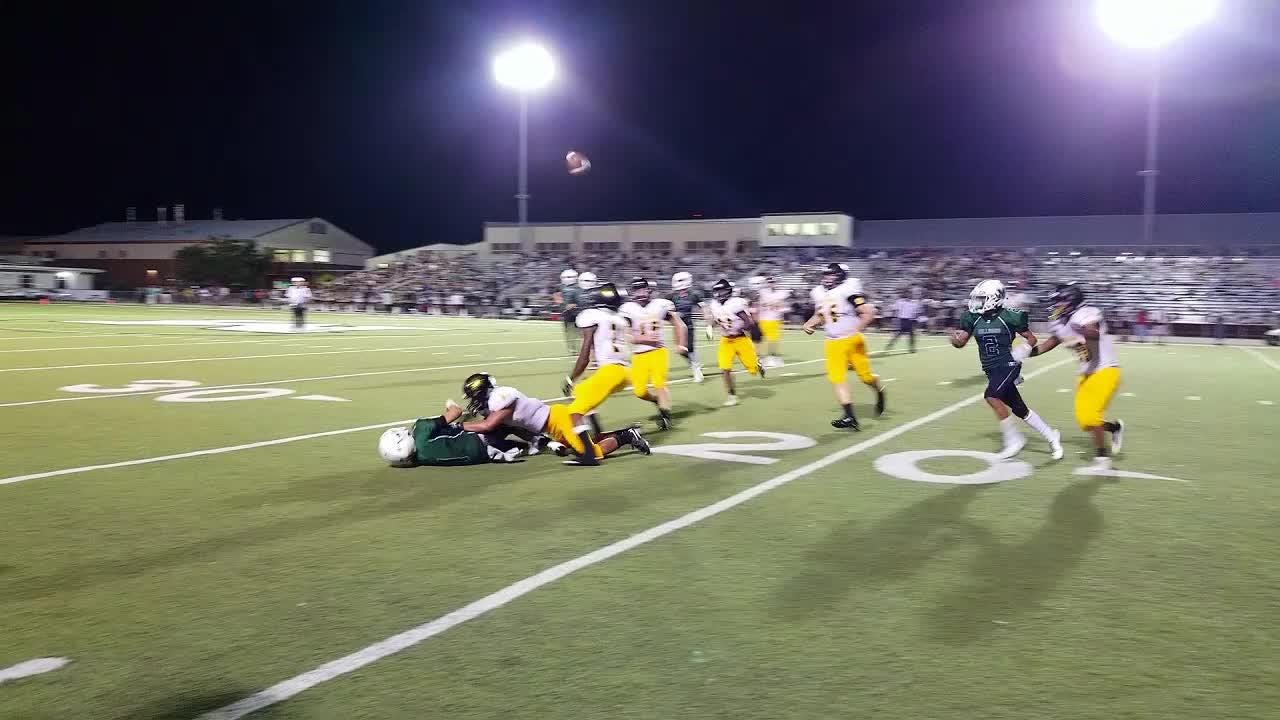 Merritt Island won the game, 34-6, on some huge plays, but the Mustangs and the Bulldogs both had some great highlights from their Friday match-up.