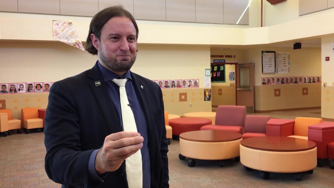 New Mexico Education Secretary-designate Christopher Ruszkowski, discusses yearly assessment test.