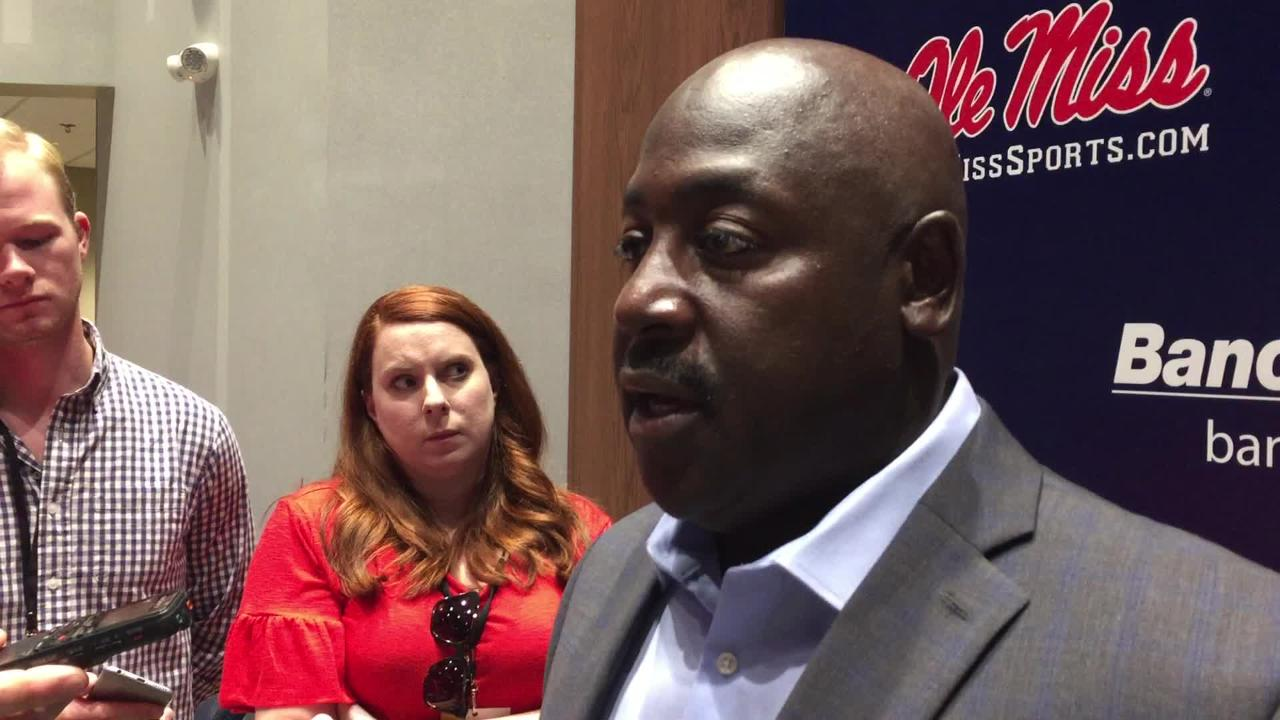Ole Miss defensive coordinator Wesley McGriff discussed his players' performance after a 38-17 win over Kent  State on Saturday, September 22, 2018.