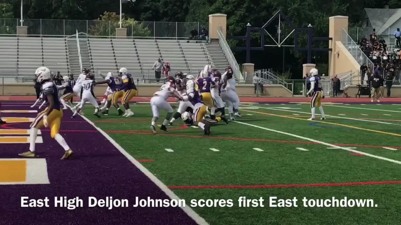 Eagles improve to 3-0, with one game in suspension, during homecoming game