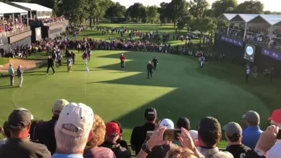 Fans give Jack Nicklaus a South Dakota welcome on hole 18
