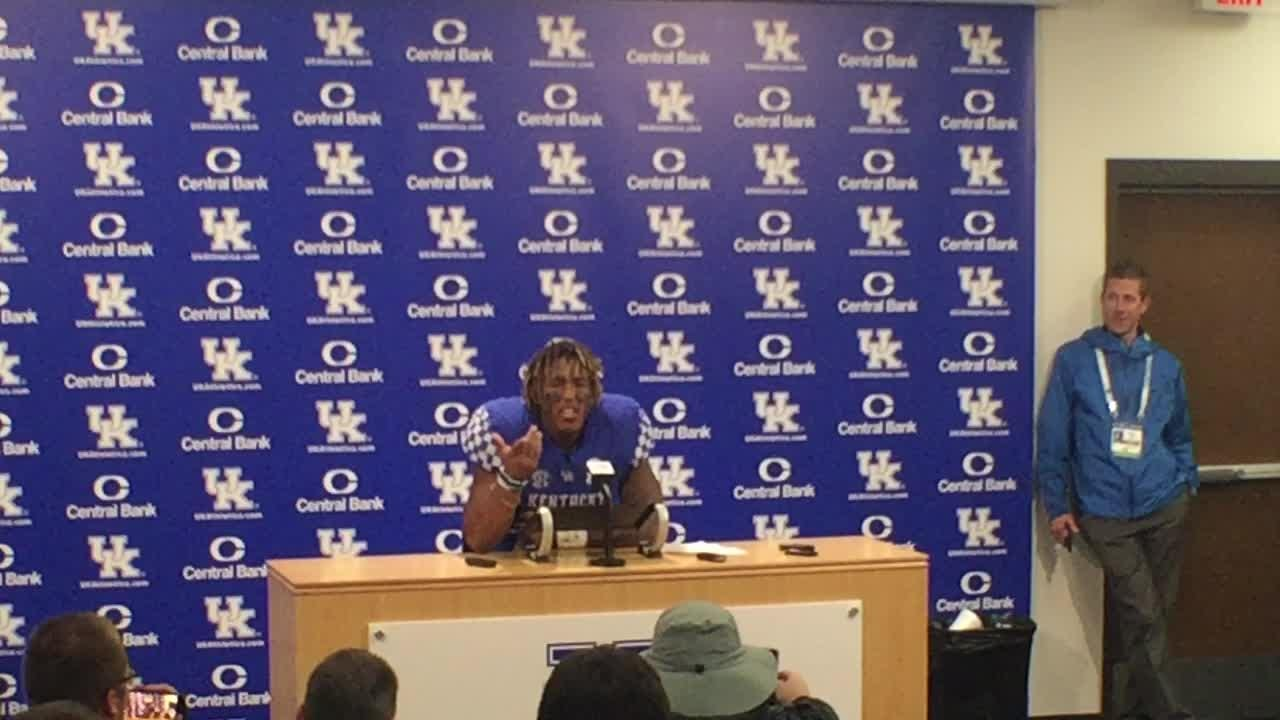 UK running back Benny Snell broke down his record-setting performance in a win over Mississippi State.