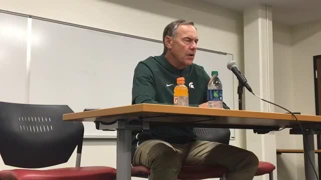 Michigan State coach Mark Dantonio excited, but knows areas to improve after win over Indiana on Sept. 22, 2018.