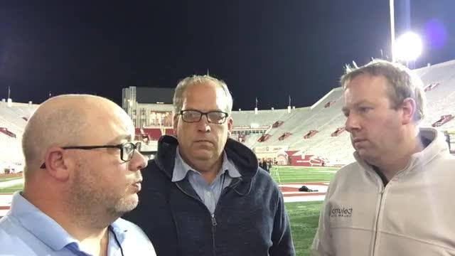 Lansing State Journal's Graham Couch and the Detroit Free Press's Chris Solari and Shawn Windsor break down Michigan State's 35-21 win over Indiana.