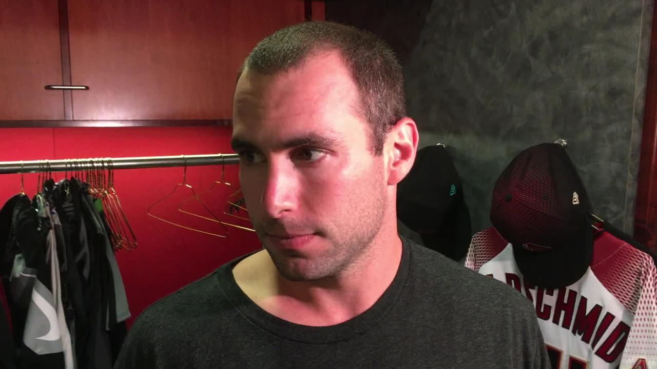 Diamondbacks slugger Paul Goldschmidt talks about his team's official elimination from the postseason hunt.