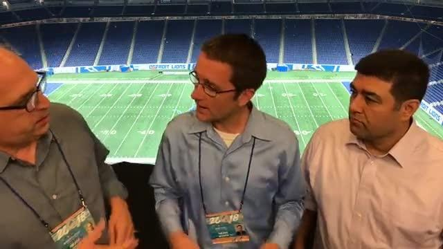 Free Press writers Shawn Windsor, Dave Birkett and Carlos Monarrez dissect the Lions' 26-10 win over the Patriots on Sept. 23, 2018 at Ford Field.