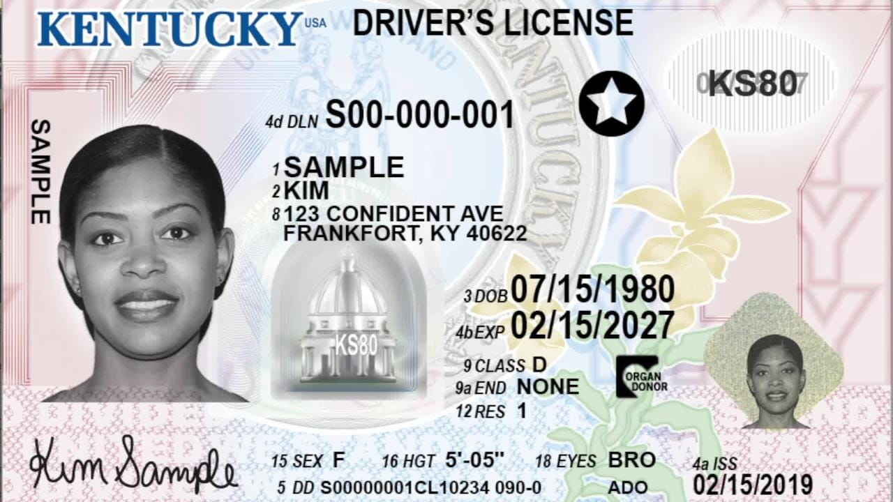 License New Rollout Real Id Delayed Drivers Kentucky