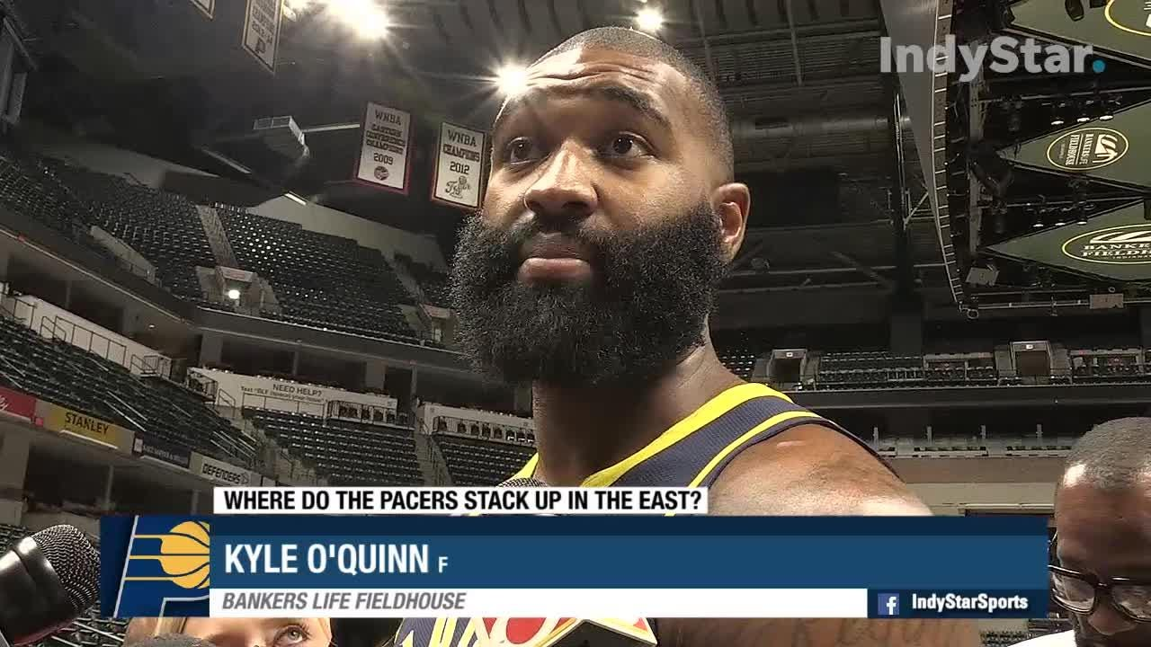 The Indiana Pacers held Media Day Monday, September 24. The team discusses playing as an underdog and where the stack up in the east.