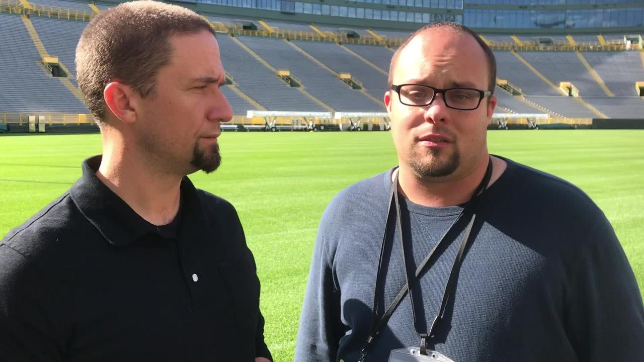 Packers beat reporters Jim Owczarski and Ryan Wood analyze how Green Bay will deal with heavy injury hits to the offensive and defensive lines.