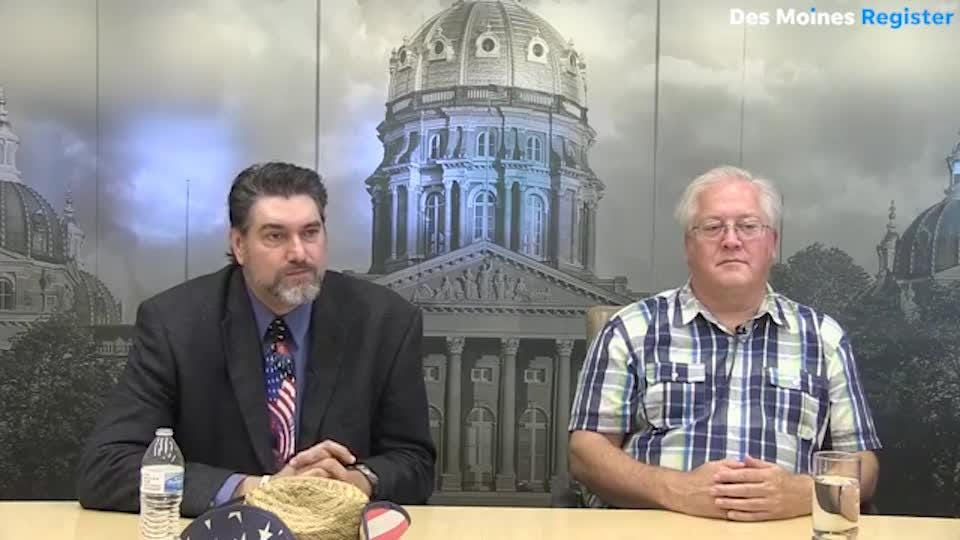 The Libertarian candidates in Iowa's 3rd and 4th districts speak with the Register's editorial board.
