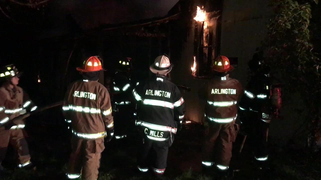 The cause of a Monday night fire in a small, vacant structure behind an nonoperational Town of Poughkeepsie motel is under investigation.