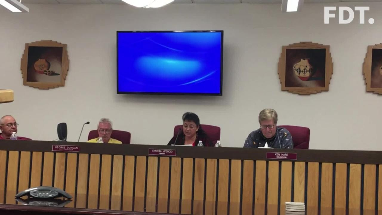 Bloomfield Mayor Cynthia Atencio issued a statement during the City Council meeting regarding the city's discussions with the county.