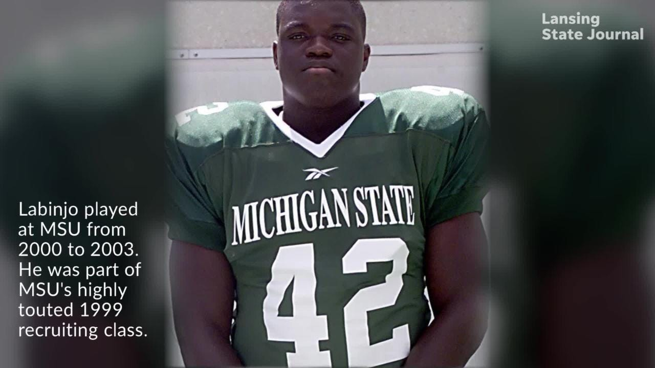Mike Labinjo died Sept. 22 inside his home in Calgary, Alberta, Canada. The former Michigan State linebacker played for the Spartans from 2000-2003.