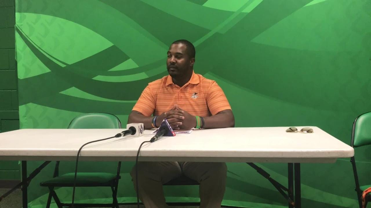 WATCH IT: FAMU HC Willie Simmons discusses this week's game vs NCCU
