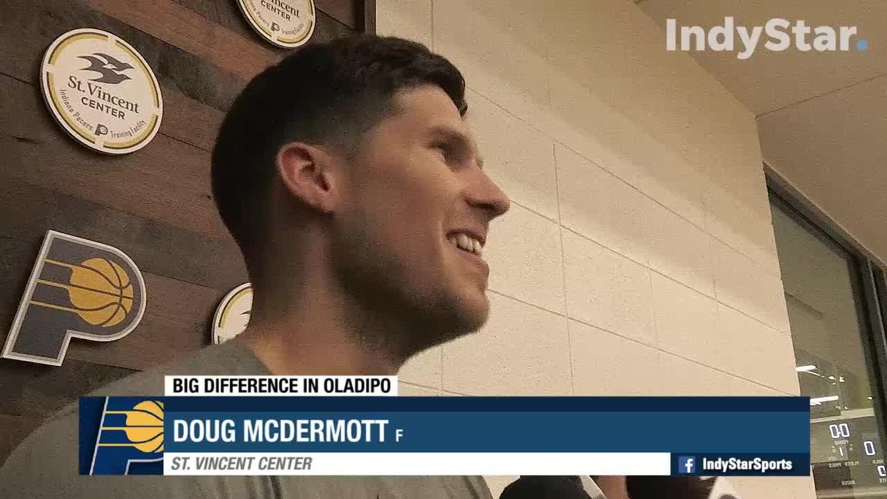 Confident Pacers wrap up first practice