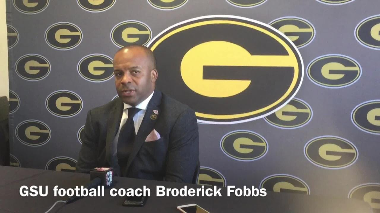 Broderick Fobbs discusses why Aldon Clark will start at QB v. PVAMU