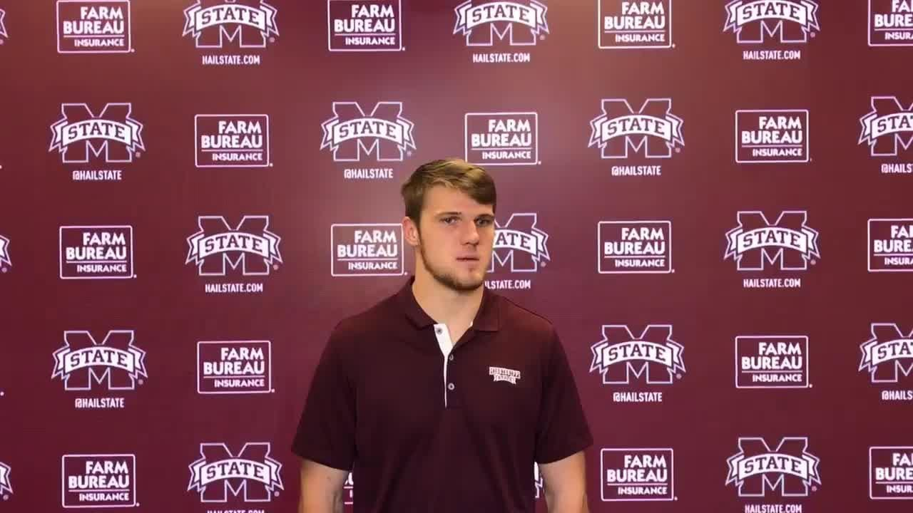 Mississippi State quarterback Nick Fitzgerald on players only meeting, focusing on Florida